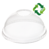 DOME Lid (rPET) no hole, diameter 95mm [7AM 95D]