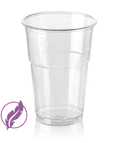 FEATHERWEIGHT Eco Cup (PET) 250ml, diameter 78mm [2AEL 300]