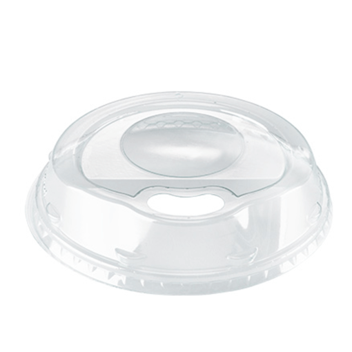 SIP-THRU Lid (PET), diameter 95mm [2AM SL95]
