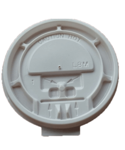 FLAT Lid (PS) with hole, diameter 84mm [3AE 212]