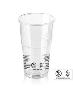 EUROPEAN Cup (PET) 300ml, diameter 78mm [2AE 350]