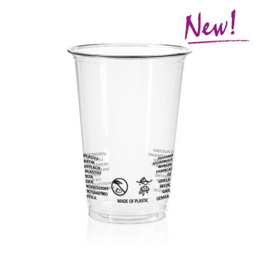 AMERICAN Cup (PET) 400ml, diameter 95mm [2AE 540]