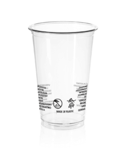 AMERICAN Cup (PET) 500ml, diameter 93mm [2AE 590]